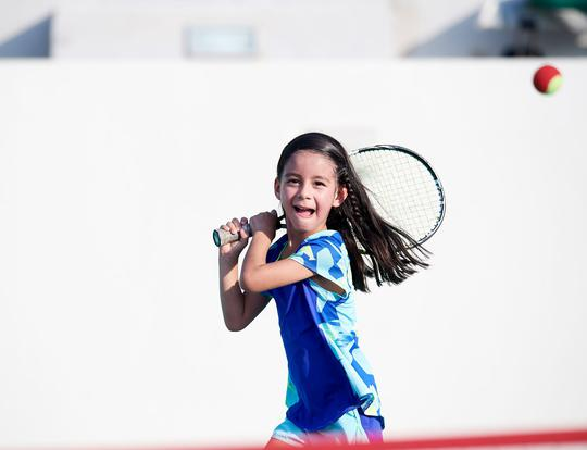 Private Tennis Lessons for Kids Under 12 @ Abu Dhabi