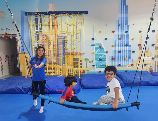 AED 40 for 4hrs Open Play @ WRTS Kid's Gym @ Dubai
