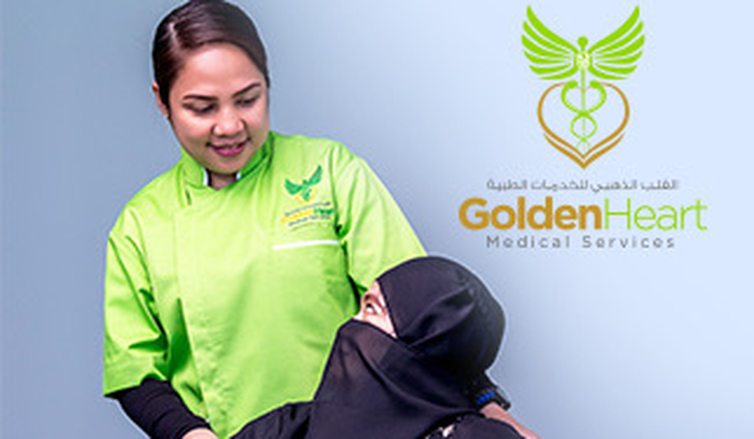 20% off Home Care Services by Golden Heart Medical Services @ Dubai