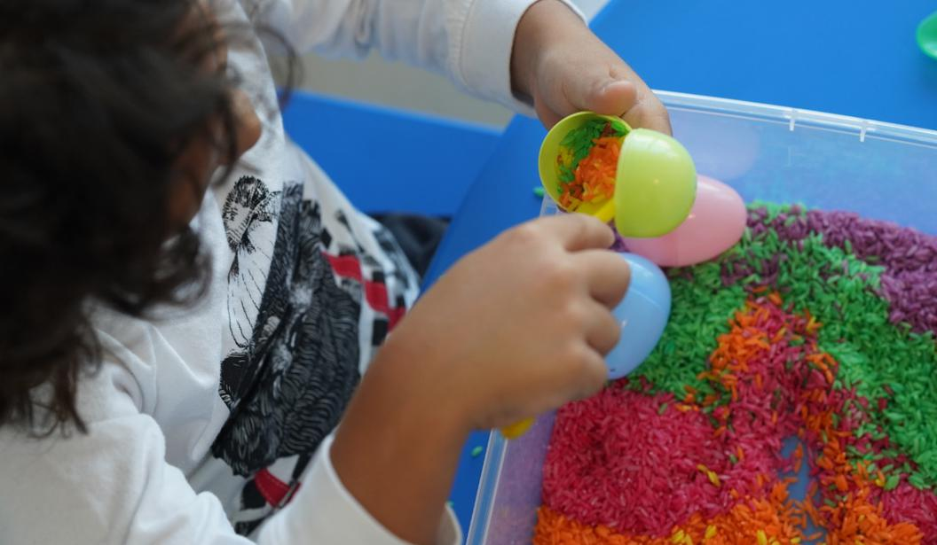 Homemade Edible Play Dough Activity Box by The Creative Train @ Dubai