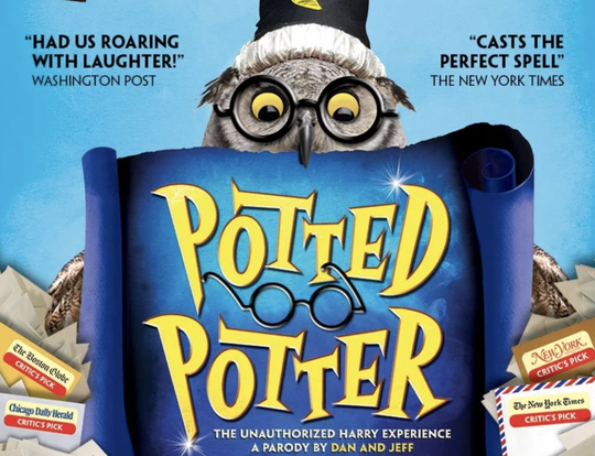 Potted Potter @ Theatre by QE2 @ Dubai