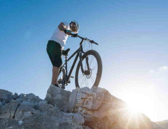 Mountain Biking at Hatta Trail @ Dubai