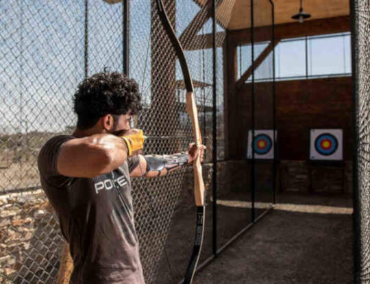 Archery at Hatta @ Dubai