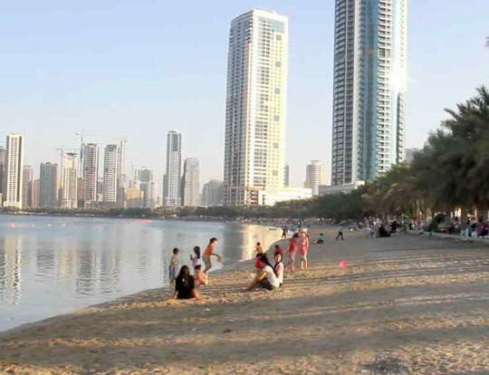 Al Corniche Beach @ Sharjah