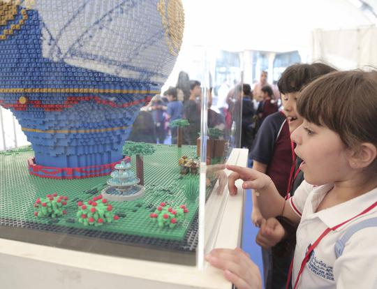 Travelling Bricks' Lego Exhibition @ Al Majaz Waterfront @ Sharjah