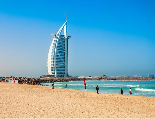 Jumeirah Public Beach (Sunset Beach) @ Dubai