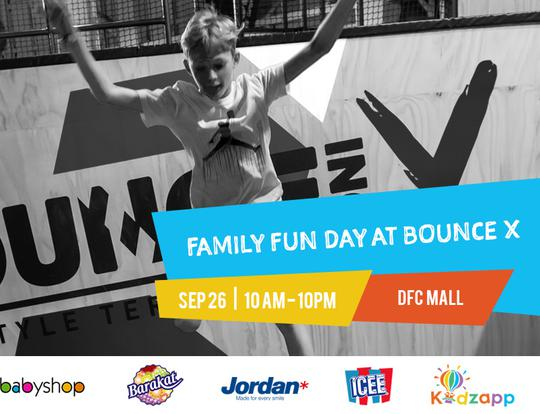 Family Fun Day at BOUNCE X @ Dubai