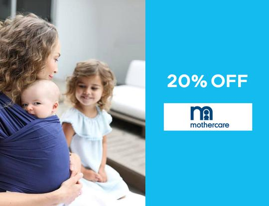 20% off mothercare.ae