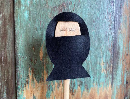 DIY Muslim Spoon Dolls @ Dubai