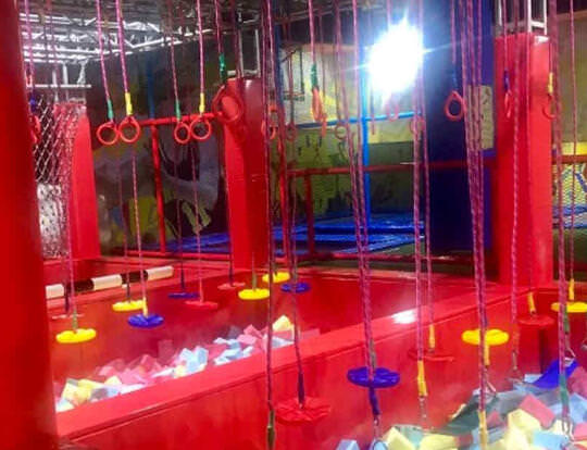 Ninja Challenge @ Jump World @ Sharjah