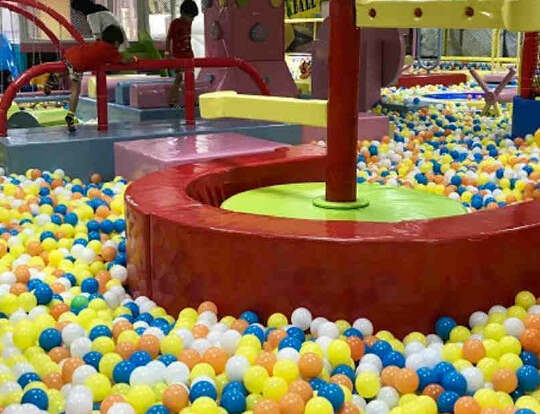 Kids Zone @ Jump World @ Sharjah