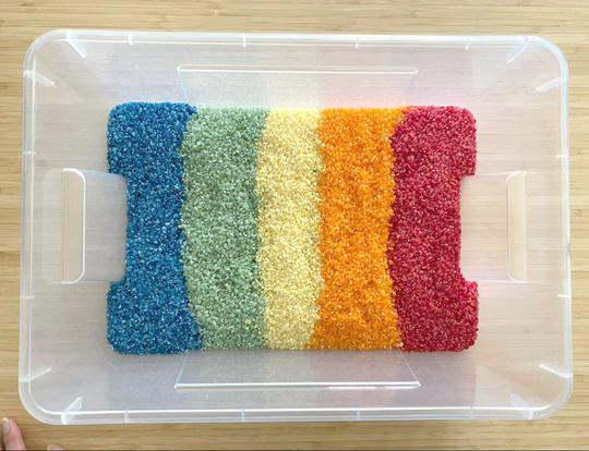 Rainbow Rice @ Dubai