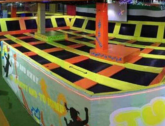 Open Jump Trampoline @ Jump World @ Sharjah