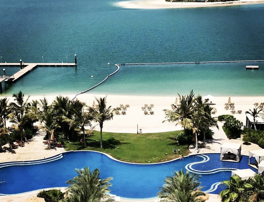 Pool & Beach Pass @ Waldorf Astoria Dubai Palm Jumeirah @ Dubai