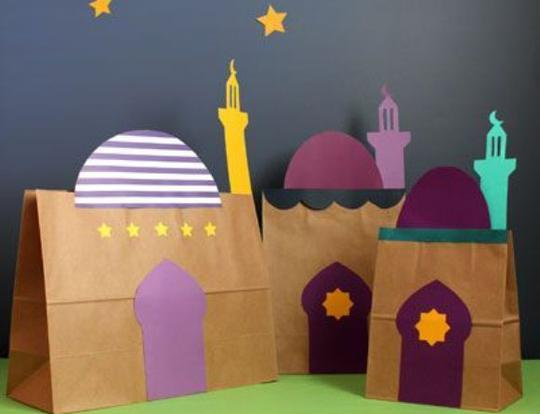 Paper Bag Mosques @ Dubai