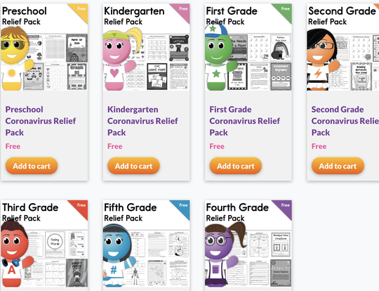 FREE Learning Packs by Have Fun Teaching @ Dubai