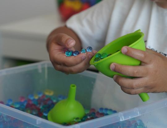 Orbeez Sensory Play Activity Box by The Creative Train @ Dubai