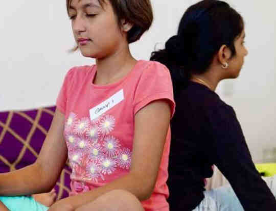 Yoga Kids at Just be Holistic @ Dubai