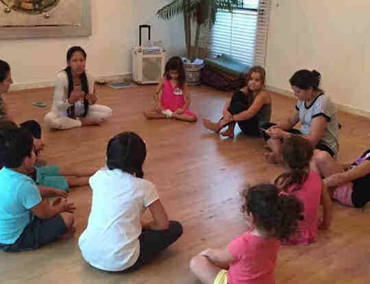 Kids & Teens Meditation at Just be Holistic @ Dubai