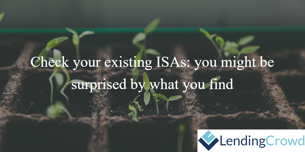 Check your existing ISAs CTA