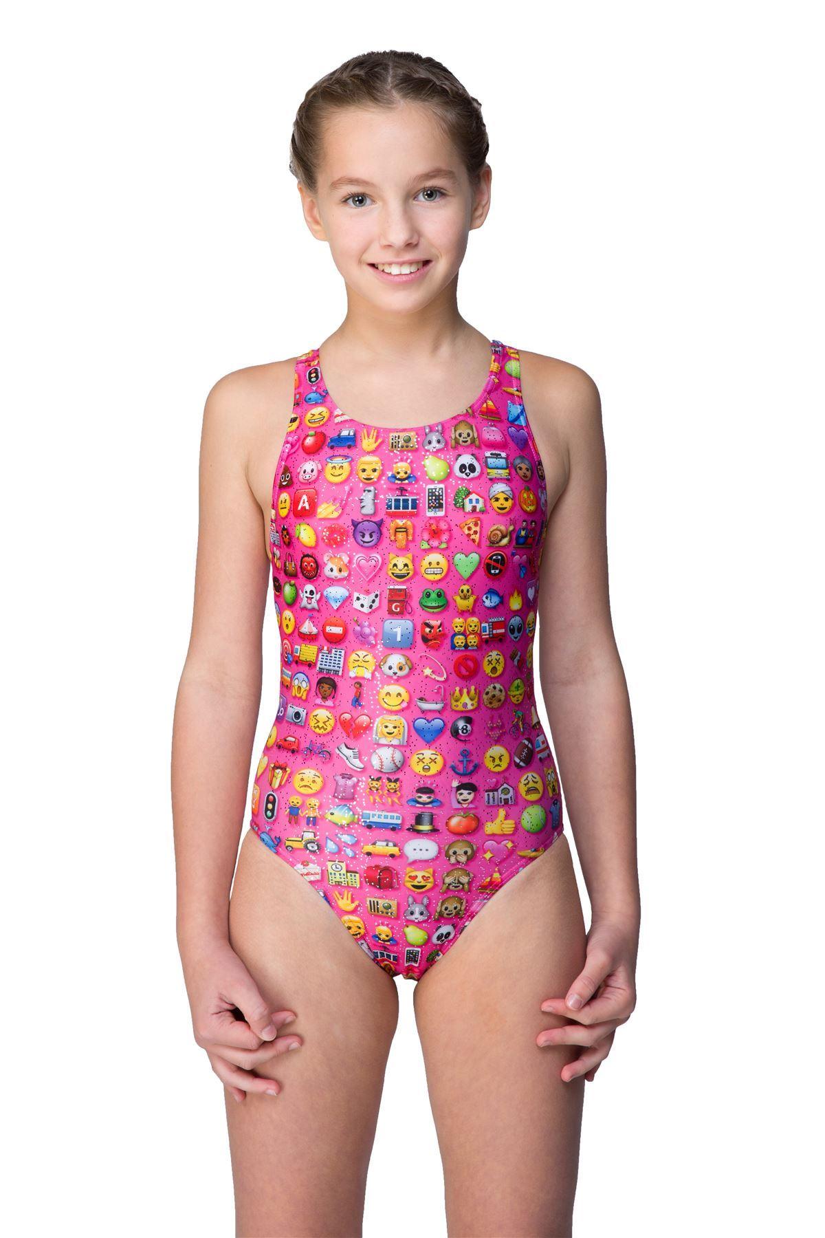 Maru-Girls-Junior-Design-Raveback-Swimsuit-Swimming-Costume-  sc 1 st  eBay & Maru Girls Junior Design Raveback Swimsuit Swimming Costume Swimwear ...