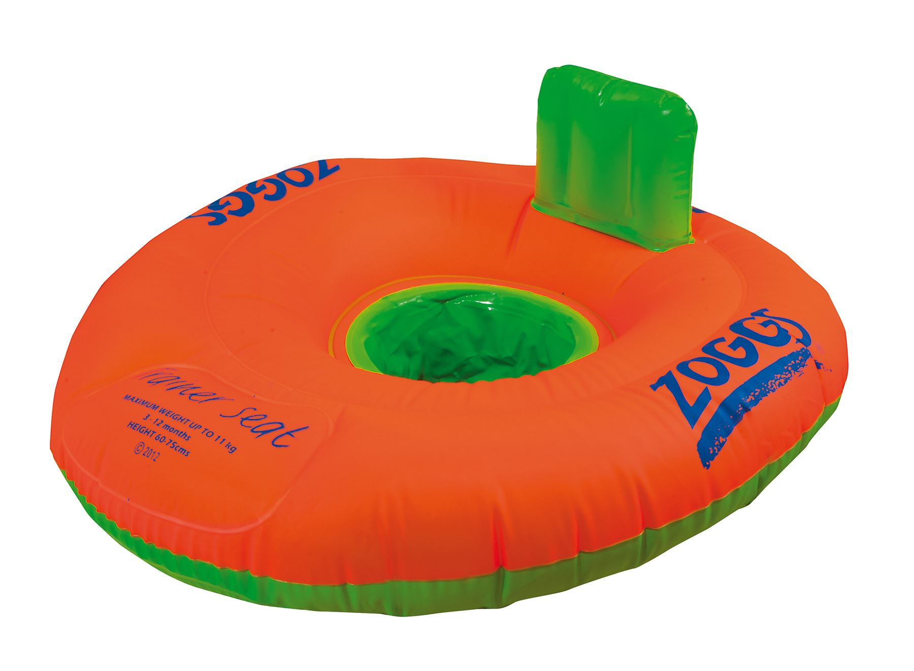 Zoggs Swimming Trainer Seat Ring Baby/Toddler Floating/Inflatable ...