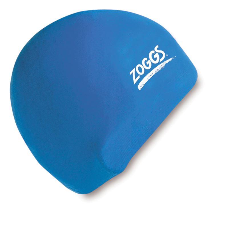 Zoggs Adult Swim Cap Silicone Swimming Pool Hat Plain New Ebay
