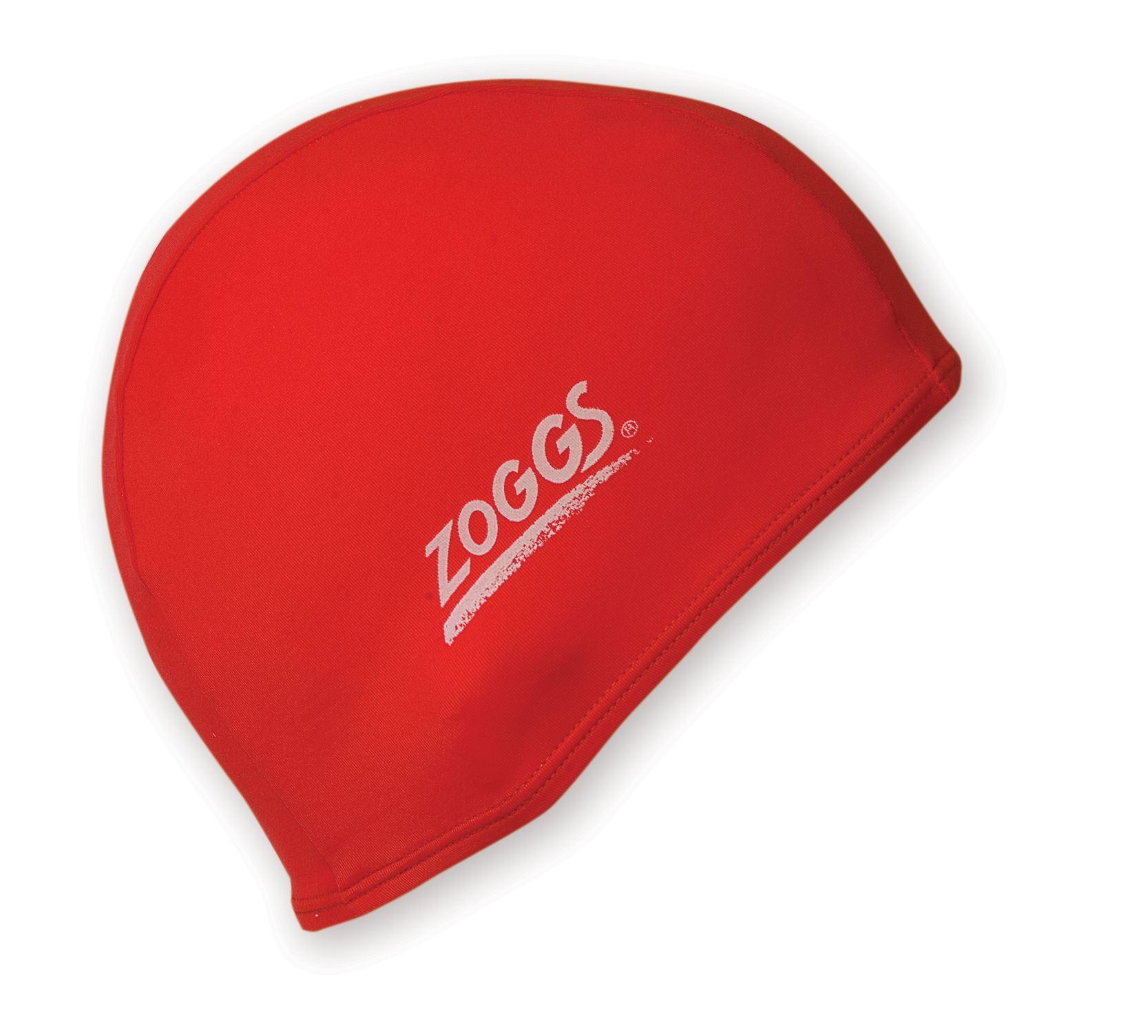 Zoggs Deluxe Stretch Cap Spandex Fabric Material Swimming Swim Pool Hat New Caps Ebay