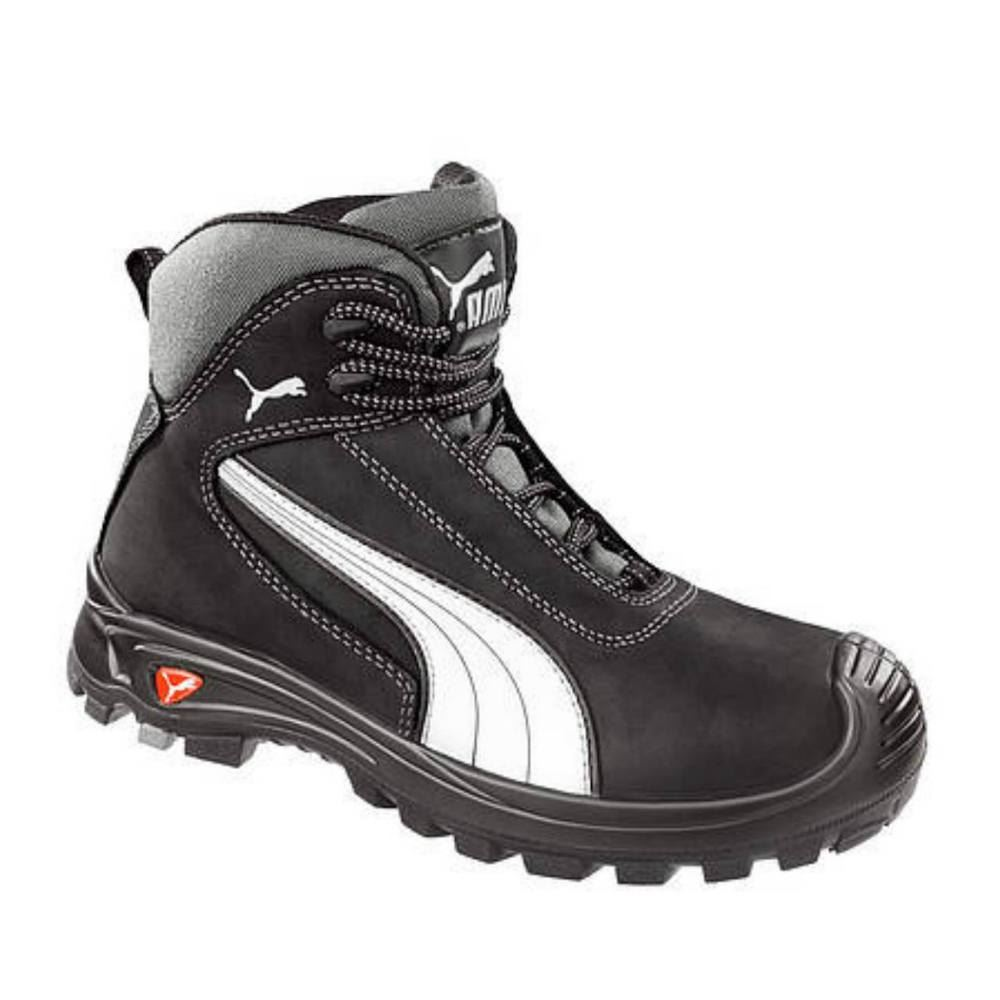 Puma 630210 Cascades Mid black S3 HRO water resistant safety boot /& midsole 6-13
