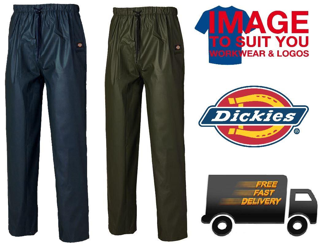Dickies Raintite Waterproof Trousers WP51000 Navy