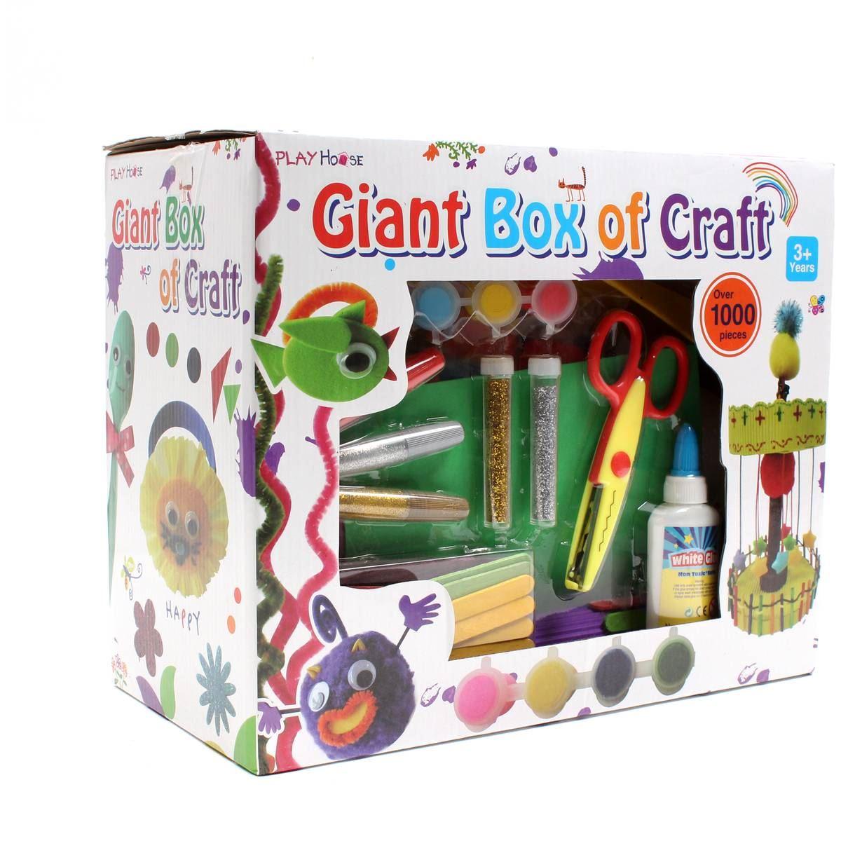 Hobbycraft Childrens Giant Box Of Craft 1000 Pieces Glue