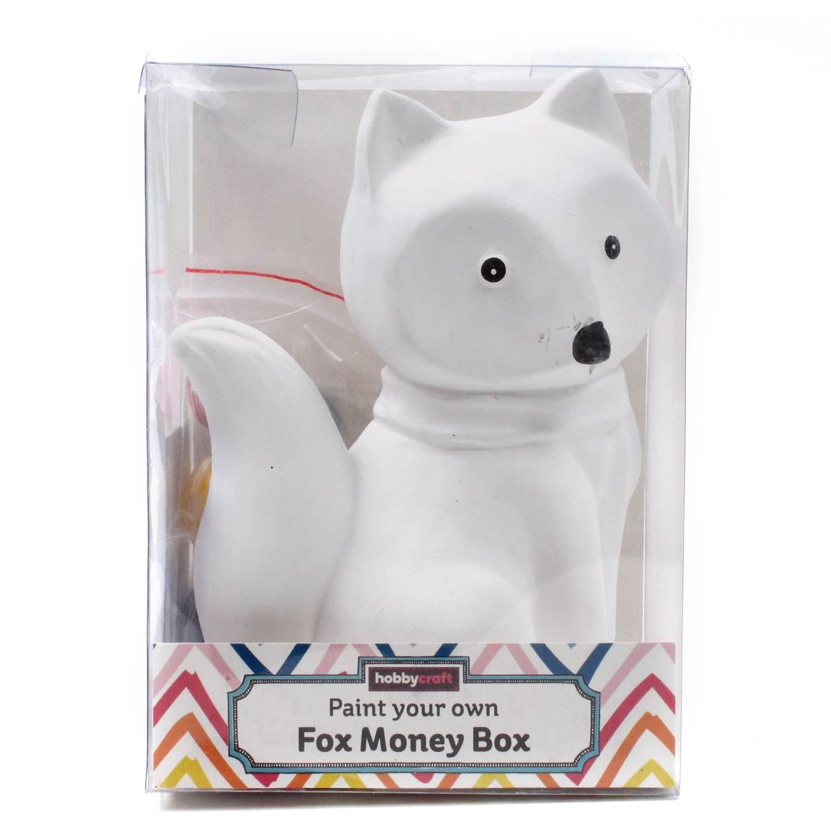 Hobbycraft Paint Your Own Fox Money Bank Painting ...