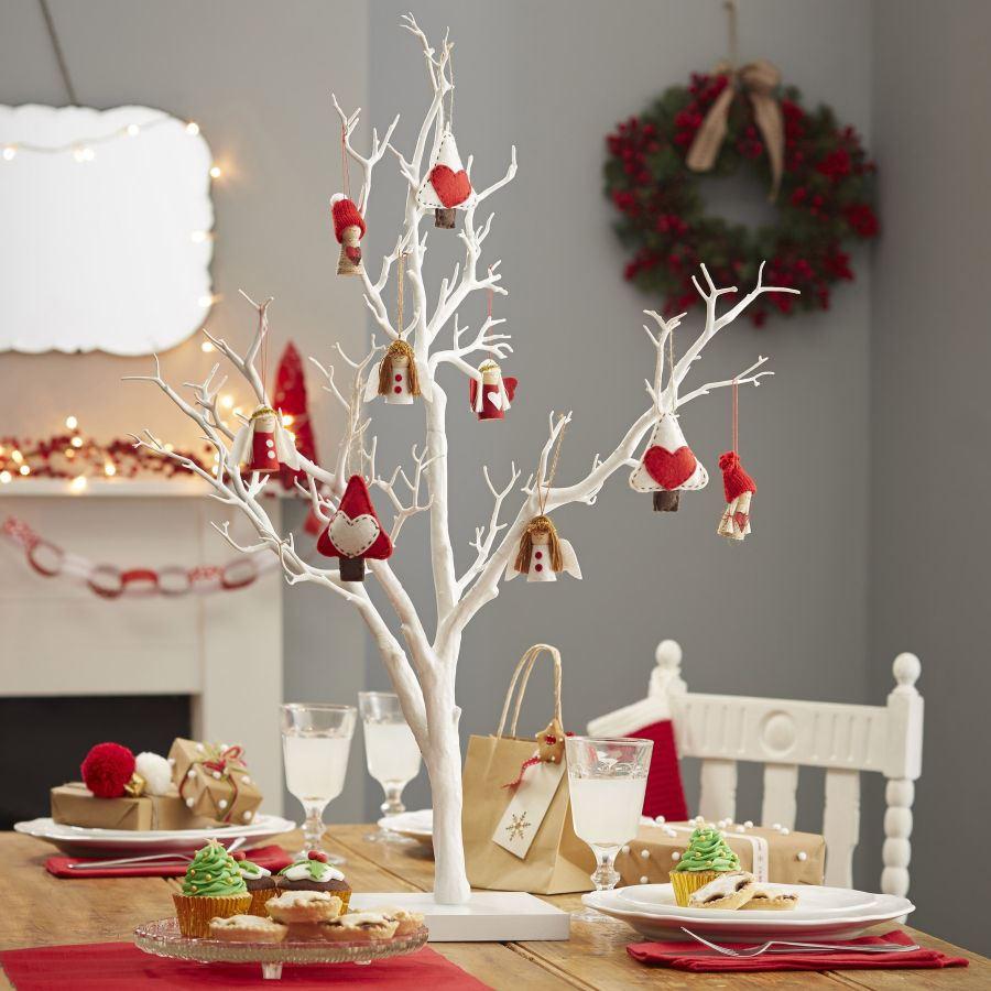 White Decorative Tree My Web Value