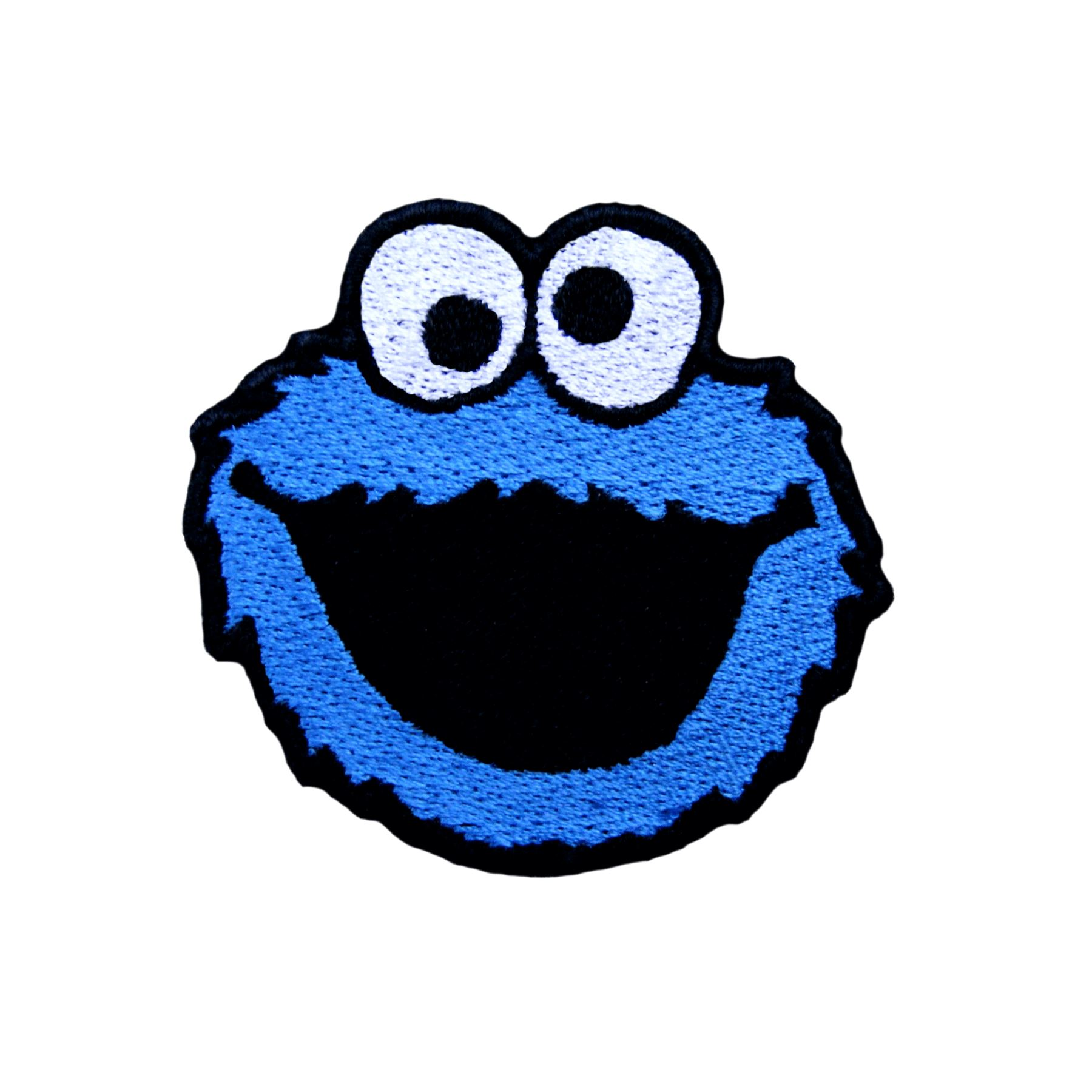 Embroidery Applique Patch Sew Iron Badge Cartoon Blue Eyes Iron On