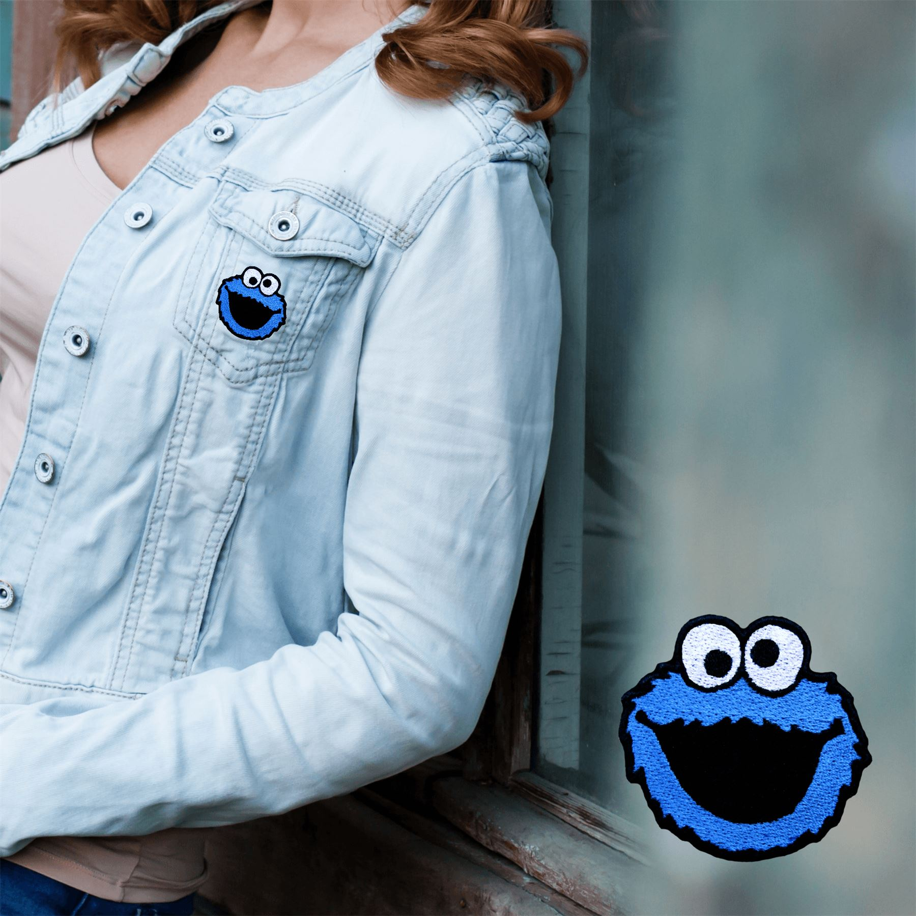 Embroidered Patches Iron Sew On Emoji Bag Cap Jeans Jacket Badge Applique
