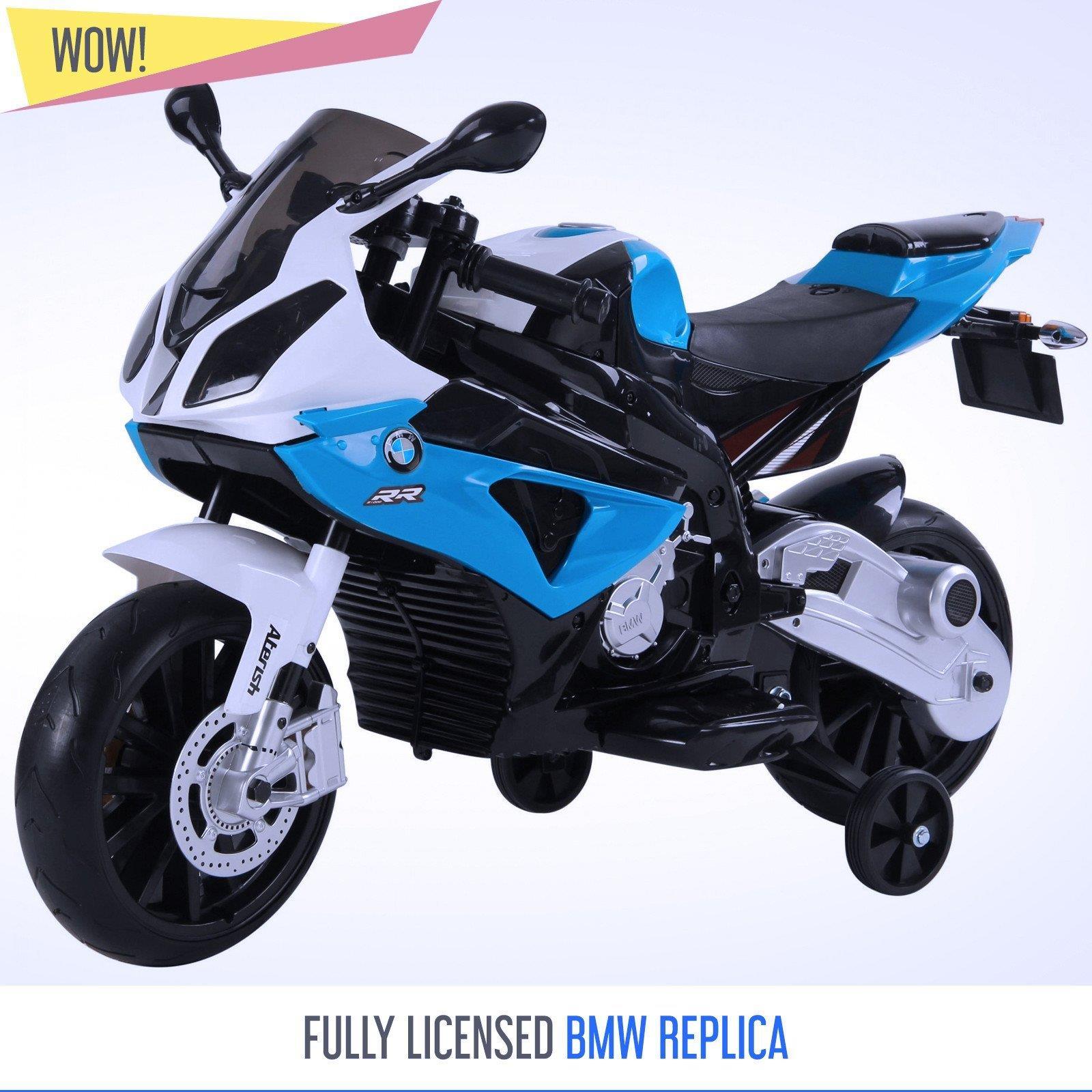 Bmw S1000rr 12v Kids Electric Ride On Bike Motorbike Official Licensed Bmw Bikes Ebay