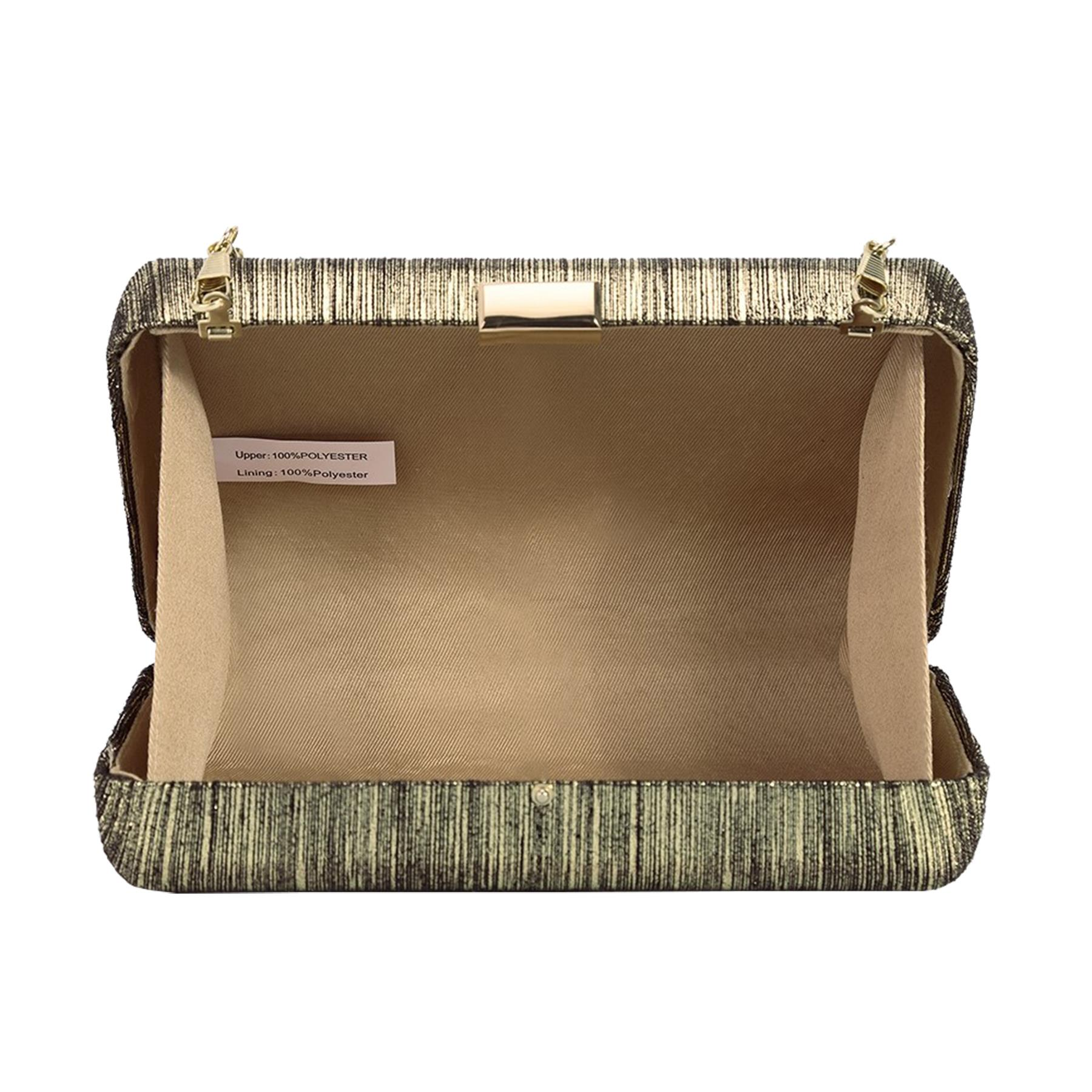 New-Ladies-Hard-Compact-Metallic-Effect-Faux-Leather-Party-Clutch-Bag thumbnail 4