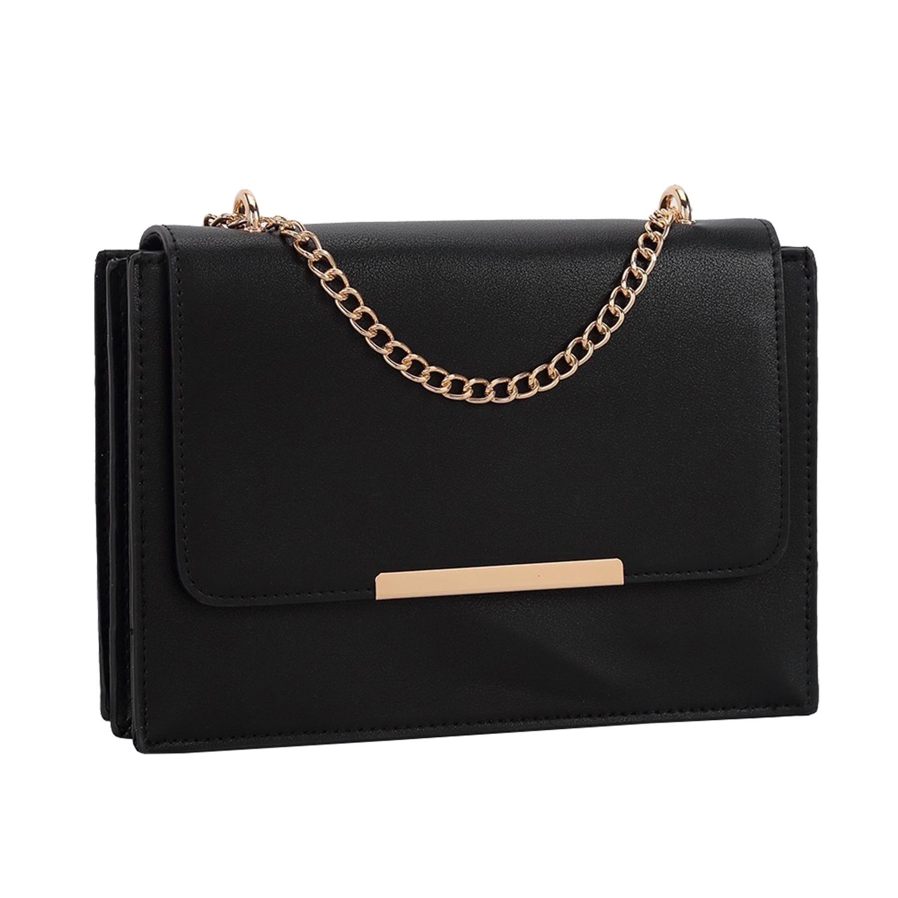 New-Women-s-Faux-Leather-Elegant-Stylish-Fashion-Shoulder-Clutch-Bag thumbnail 3