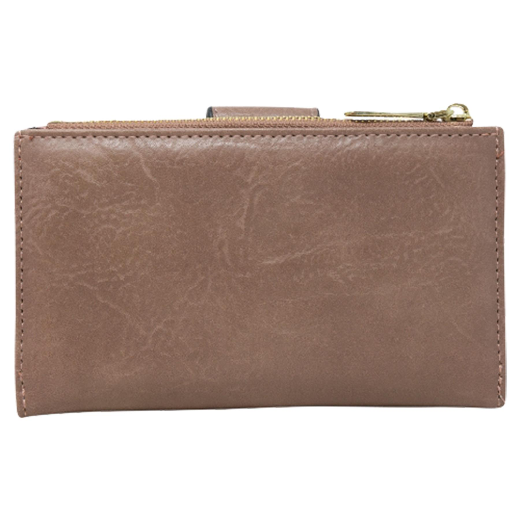 New-Soft-Plain-Synthetic-Leather-Card-Organiser-Ladies-Long-Purse thumbnail 20