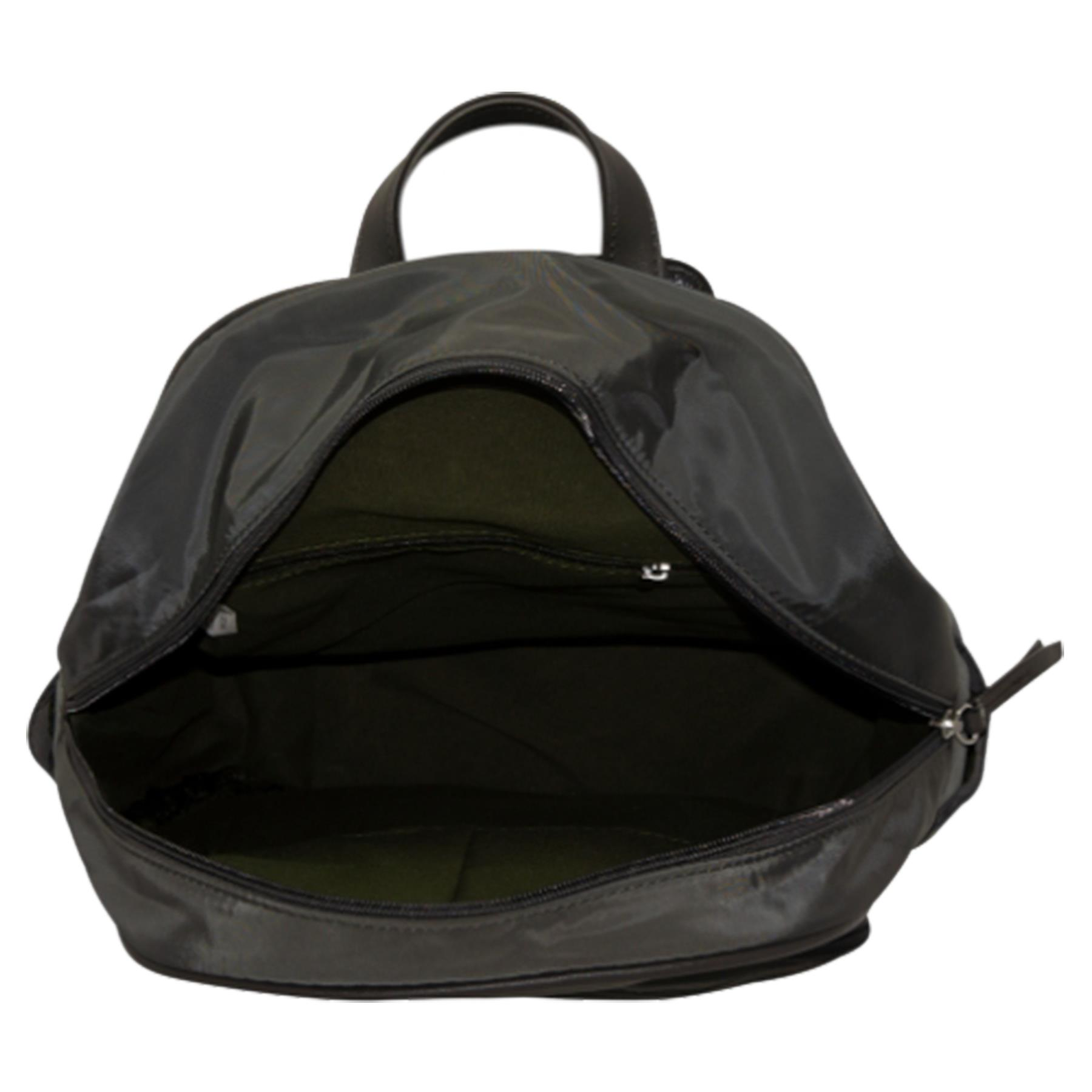New-Unisex-Plain-Nylon-Showerproof-School-College-Backpack-Rucksack thumbnail 20