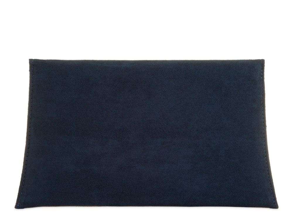 New Ladies Synthetic Suede Envelope Party Clutch Bag Purse
