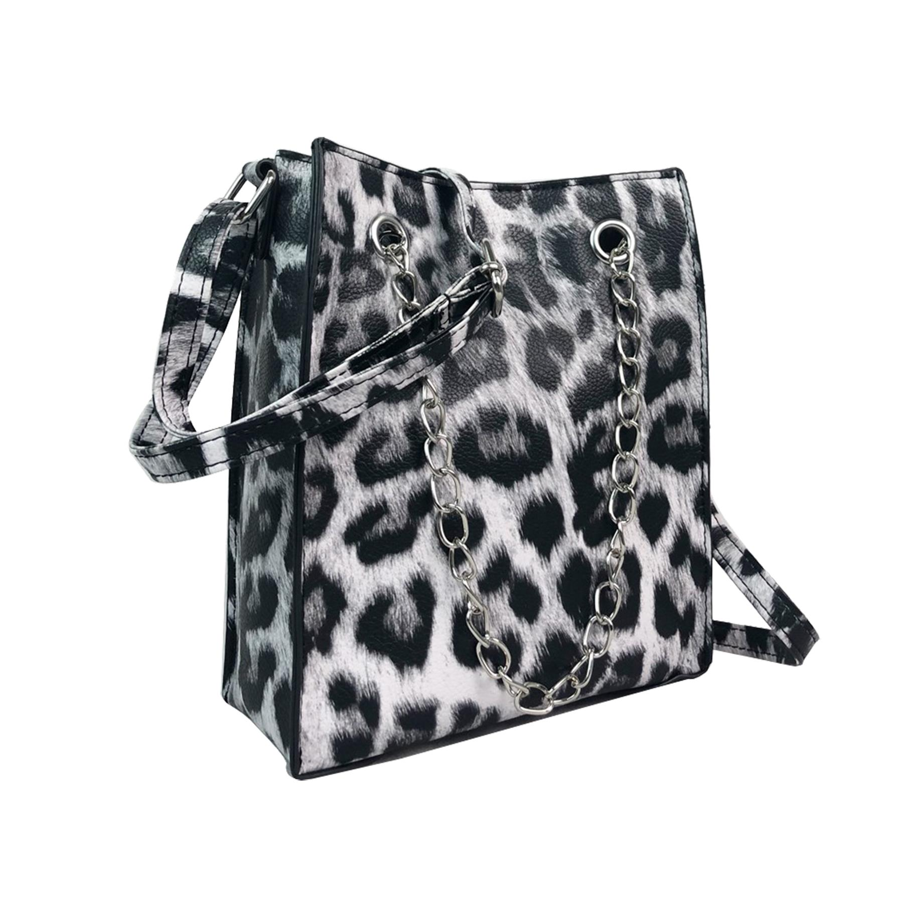New-Women-s-Zebra-Leopard-Print-Faux-Leather-Fashion-Shoulder-Bags thumbnail 3