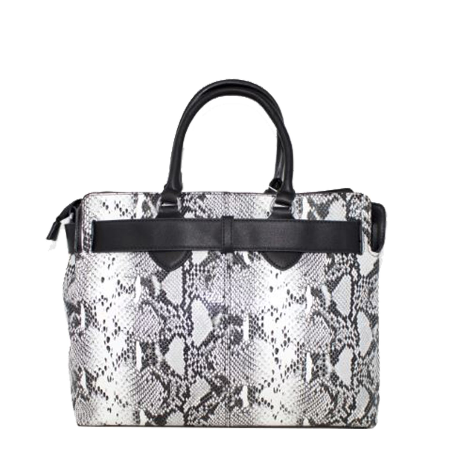 blue Tote Black Pattern Leather grey Ladies Strap red coffee Snakeskin Synthetic New Bag green Studded Svqg0zw
