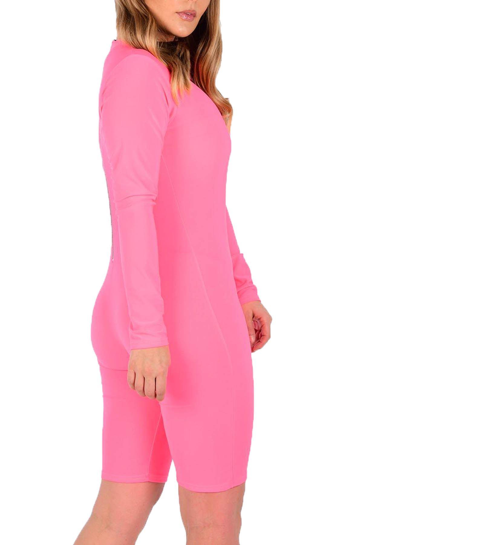 New Ladies Crepe turtle neck bell sleeve playsuit khaki Size 8-14 UK