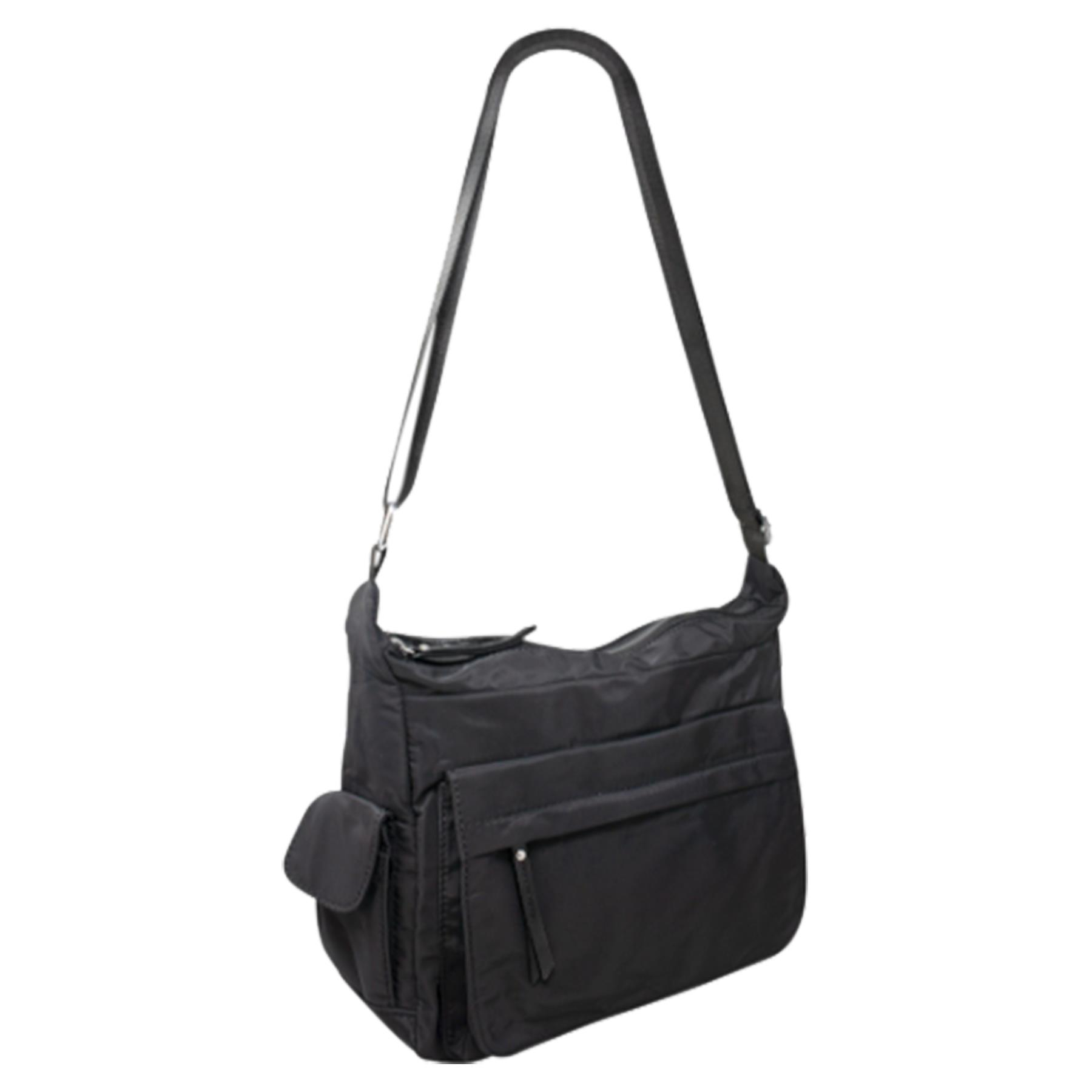 New-Ladies-Men-s-Showerproof-School-College-Practical-Basic-Crossbody-Bag thumbnail 3