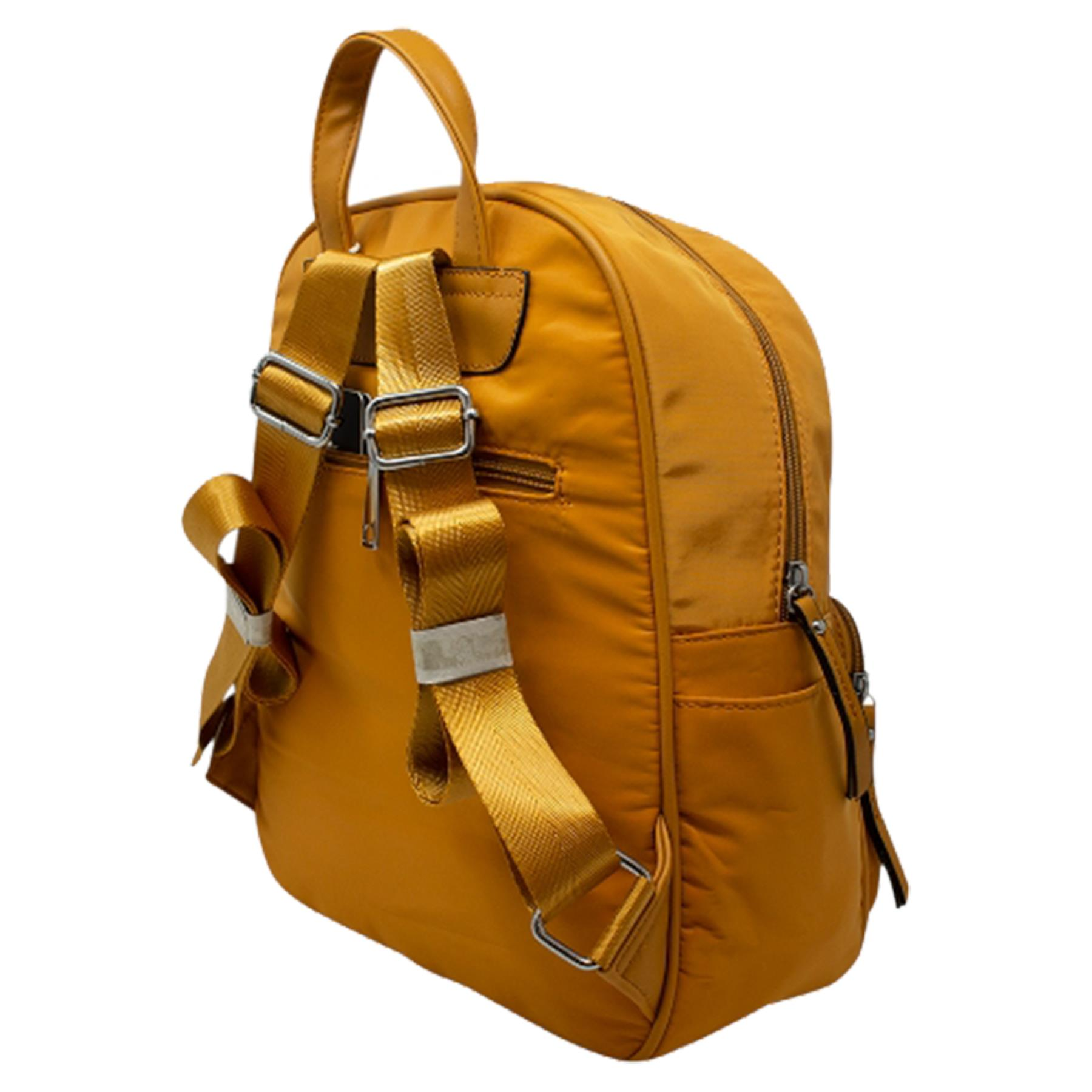 New-Unisex-Plain-Nylon-Showerproof-School-College-Backpack-Rucksack thumbnail 34