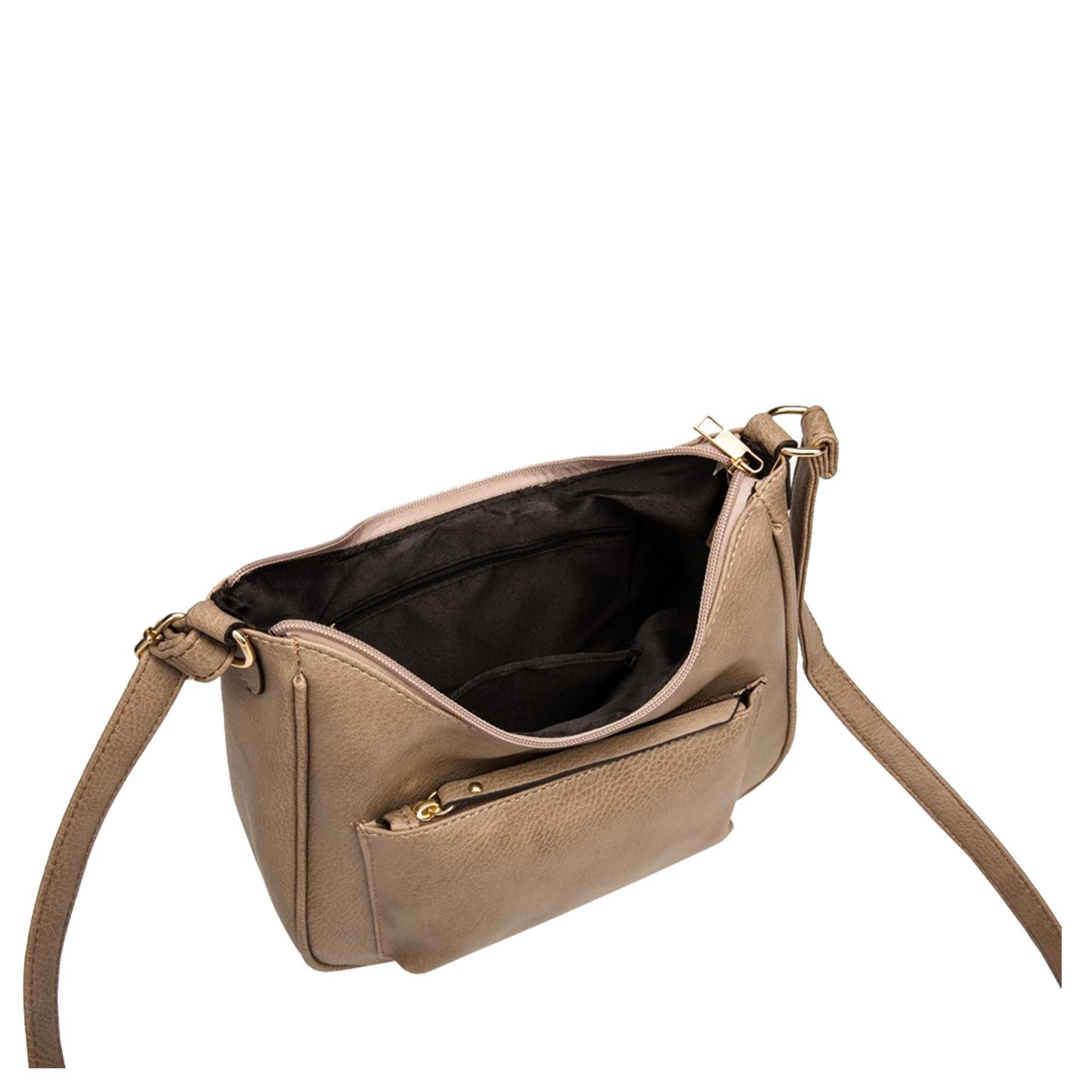 New-Soft-Synthetic-Leather-Front-Pocket-Ladies-Casual-Crossbody-Bag-Handbag thumbnail 10