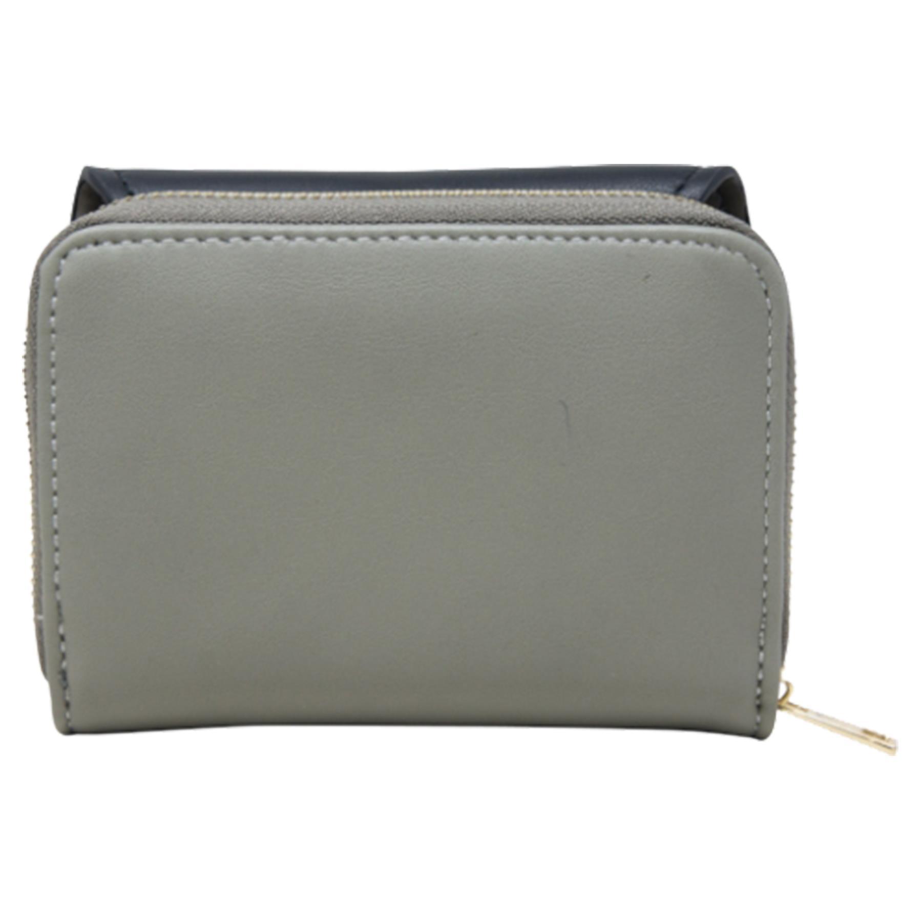 New-Ladies-Multicoloured-Envelope-Faux-Leather-Reptile-Detail-Purse thumbnail 20