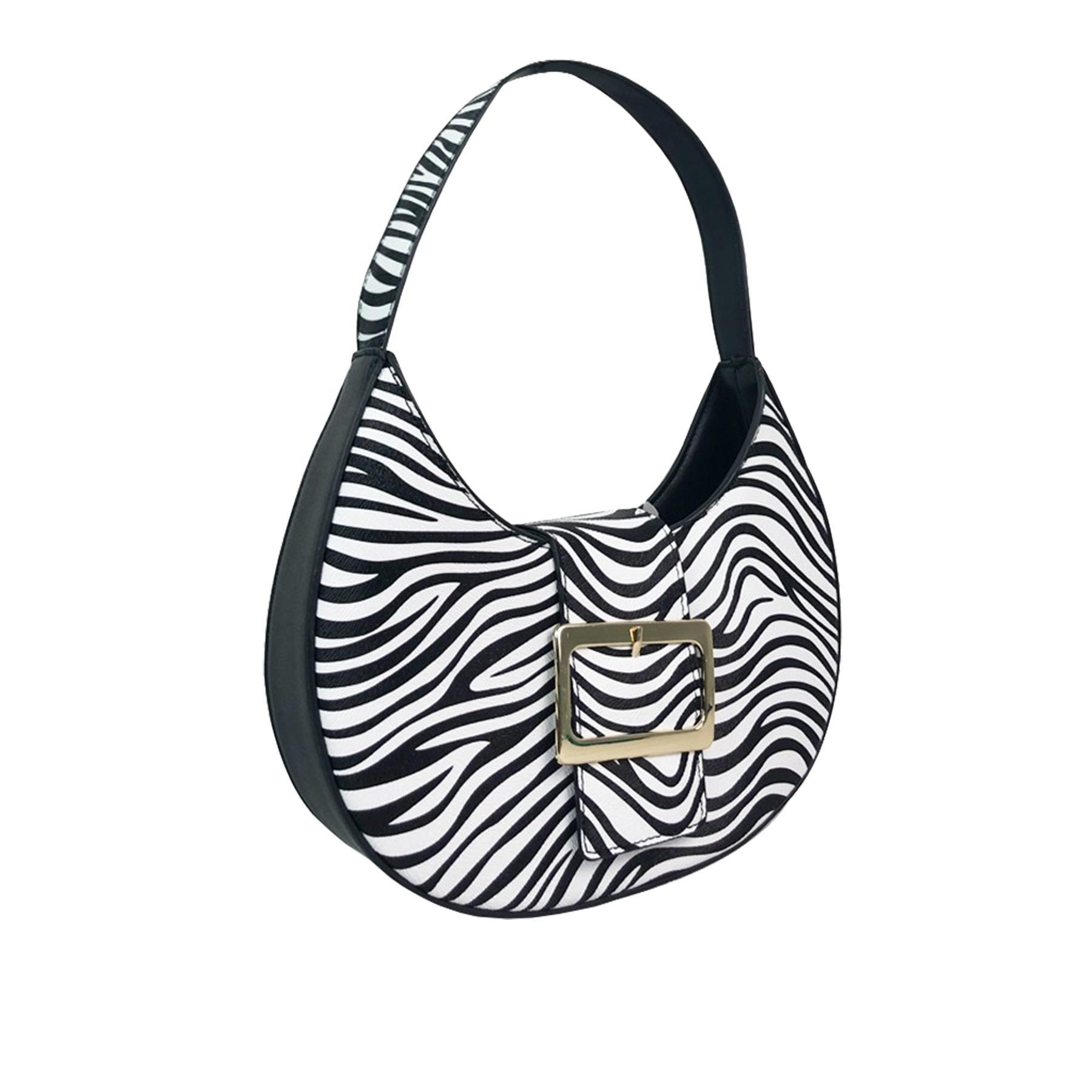 New-Women-s-Zebra-Leopard-Print-Faux-Leather-Fashion-Shoulder-Bags thumbnail 6
