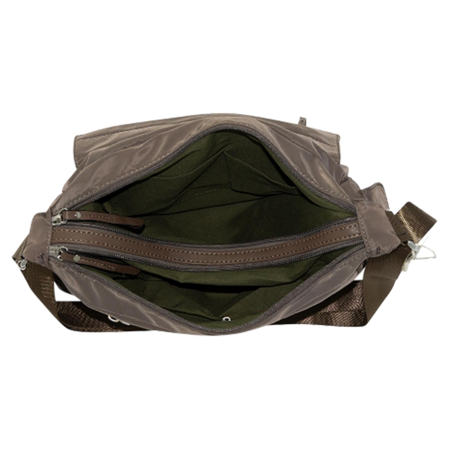 New-Ladies-Men-s-Showerproof-School-College-Practical-Basic-Crossbody-Bag thumbnail 43